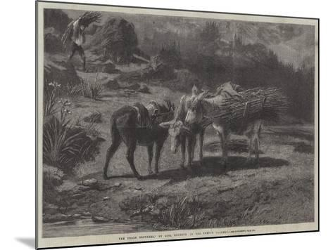 The Three Brothers-Rosa Bonheur-Mounted Giclee Print