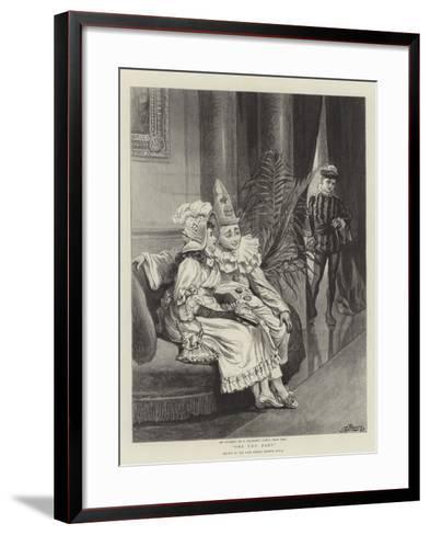 One Too Many-Robert Barnes-Framed Art Print