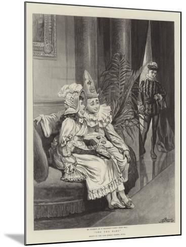 One Too Many-Robert Barnes-Mounted Giclee Print
