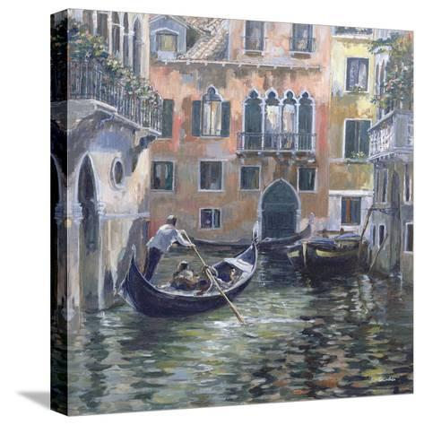 Venetian Backwater-Rosemary Lowndes-Stretched Canvas Print