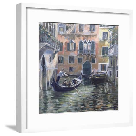 Venetian Backwater-Rosemary Lowndes-Framed Art Print