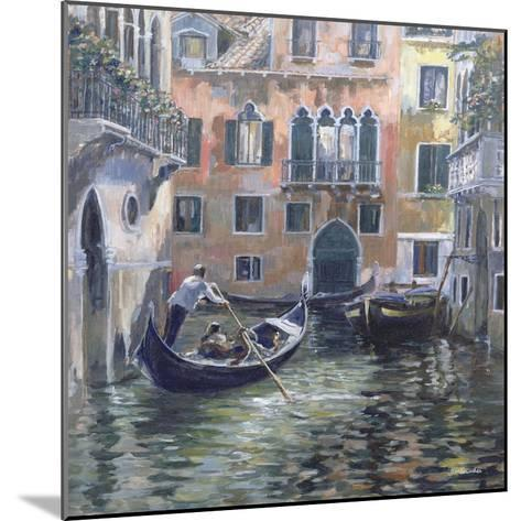 Venetian Backwater-Rosemary Lowndes-Mounted Giclee Print