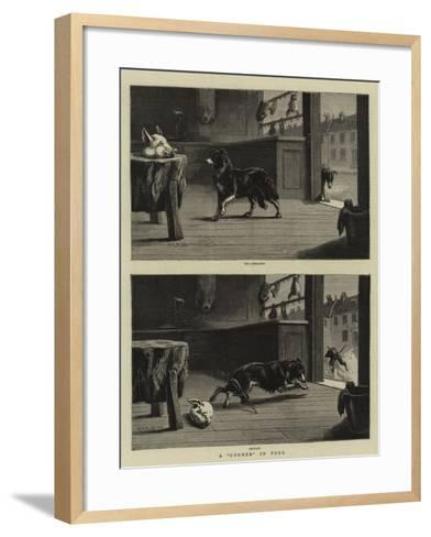 A Corner in Pork-S^t^ Dadd-Framed Art Print