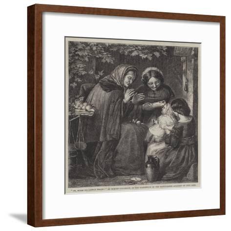 Oh, Bless its Little Heart!-Robert Collinson-Framed Art Print