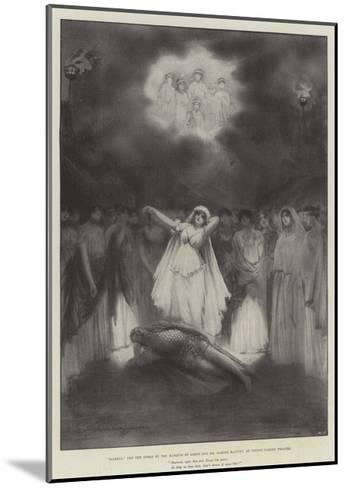 Diarmid, the New Opera by the Marquis of Lorne and Mr Hamish Maccunn, at Covent Garden Theatre-Robert Sauber-Mounted Giclee Print