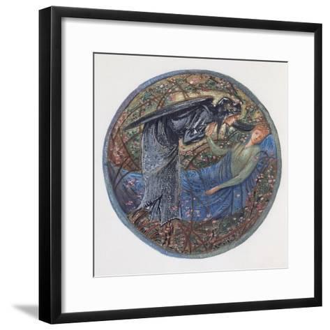 The Flower Book: XXIII, Wake, Dearest!-Edward Burne-Jones-Framed Art Print