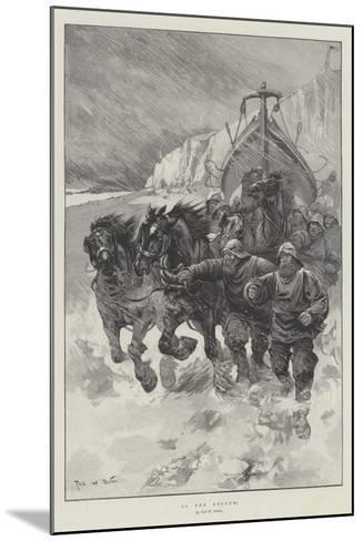 To the Rescue!-Sir Frederick William Burton-Mounted Giclee Print