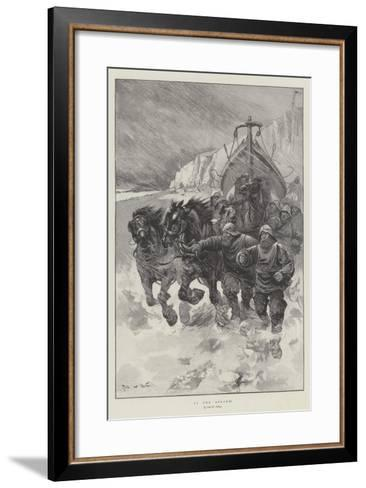 To the Rescue!-Sir Frederick William Burton-Framed Art Print