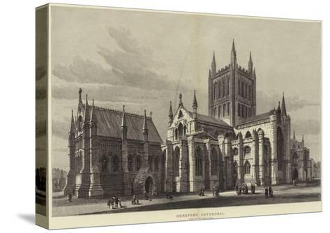 Hereford Cathedral-Samuel Read-Stretched Canvas Print