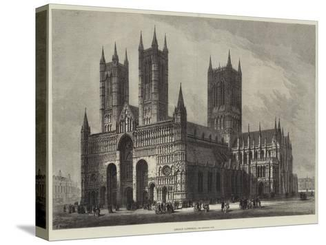 Lincoln Cathedral-Samuel Read-Stretched Canvas Print