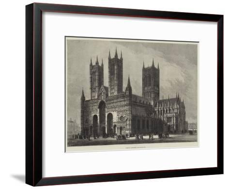 Lincoln Cathedral-Samuel Read-Framed Art Print