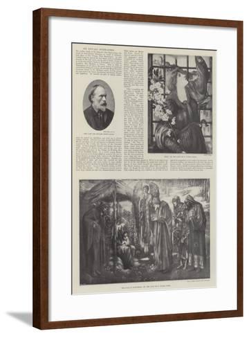 Sir Edward Burne-Jones-Edward Burne-Jones-Framed Art Print