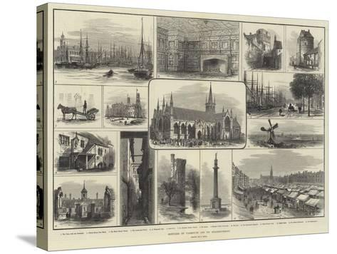 Sketches of Yarmouth and its Neighbourhood-Samuel Read-Stretched Canvas Print