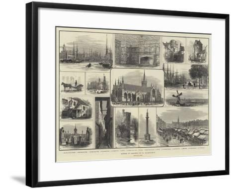 Sketches of Yarmouth and its Neighbourhood-Samuel Read-Framed Art Print