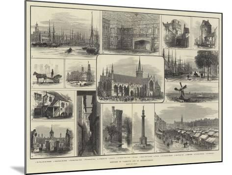Sketches of Yarmouth and its Neighbourhood-Samuel Read-Mounted Giclee Print