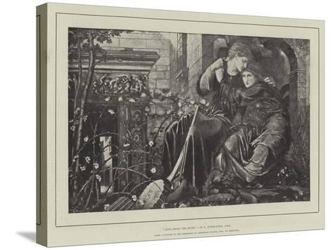 Love Among the Ruins-Edward Burne-Jones-Stretched Canvas Print