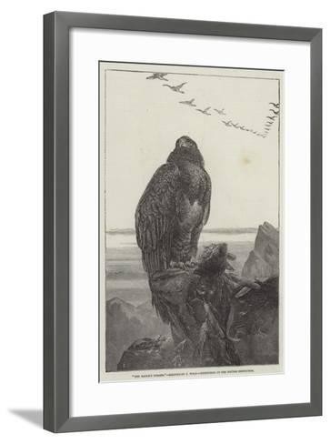 The Eagle's Throne, Exhibition of the British Institution-Samuel Read-Framed Art Print