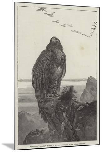 The Eagle's Throne, Exhibition of the British Institution-Samuel Read-Mounted Giclee Print