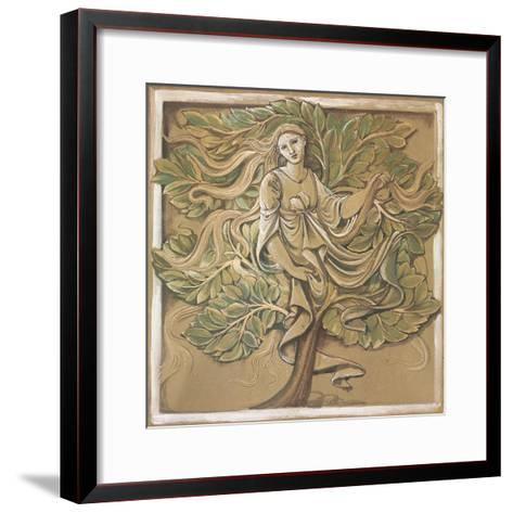 Wood Nymph-Edward Burne-Jones-Framed Art Print