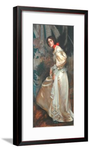The Stairs, C.1899-James Jebusa Shannon-Framed Art Print