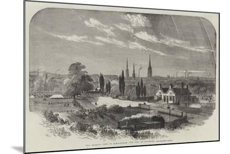 The Queen's Visit to Birmingham, the City of Coventry-Samuel Read-Mounted Giclee Print