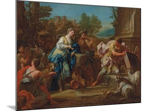 Jacob and Rachel at the Well-Sebastiano Conca-Mounted Giclee Print