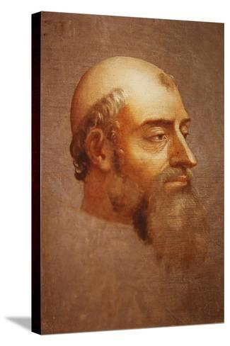 Portrait of Clement VII-Sebastiano del Piombo-Stretched Canvas Print