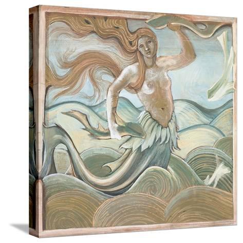 Sea Nymph-Edward Burne-Jones-Stretched Canvas Print