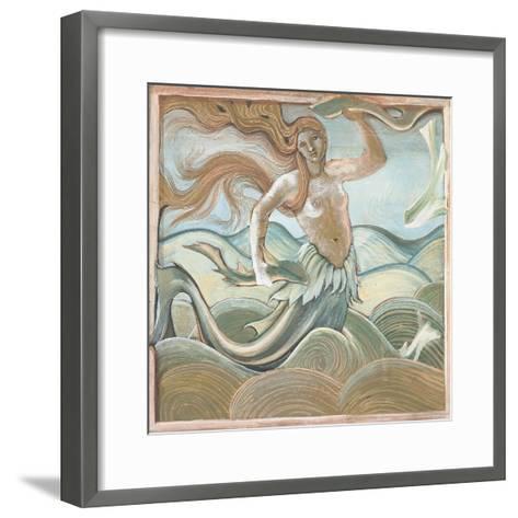 Sea Nymph-Edward Burne-Jones-Framed Art Print