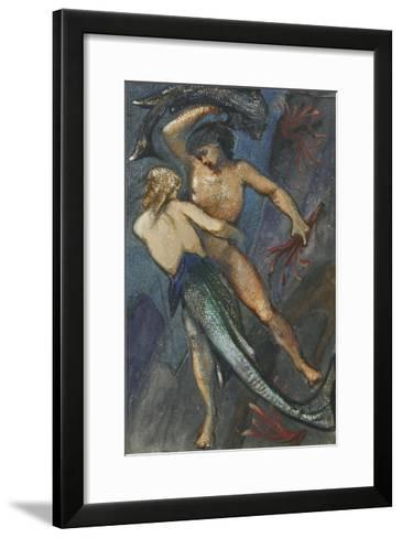 Album of Forty-Eight Drawings-Edward Burne-Jones-Framed Art Print