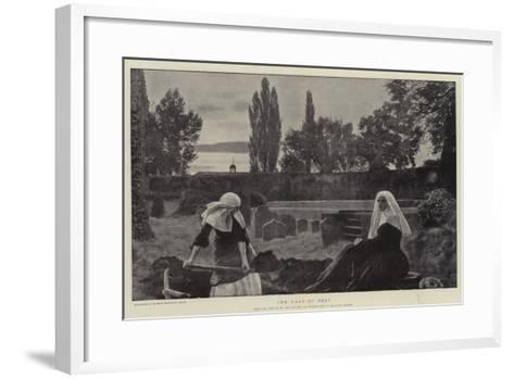 The Vale of Rest-John Everett Millais-Framed Art Print