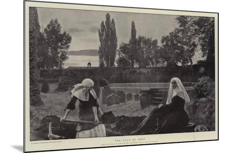 The Vale of Rest-John Everett Millais-Mounted Giclee Print