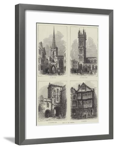 Bits of Old Bristol-Samuel Read-Framed Art Print
