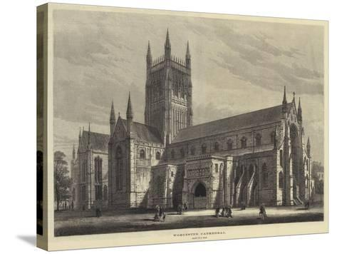 Worcester Cathedral-Samuel Read-Stretched Canvas Print