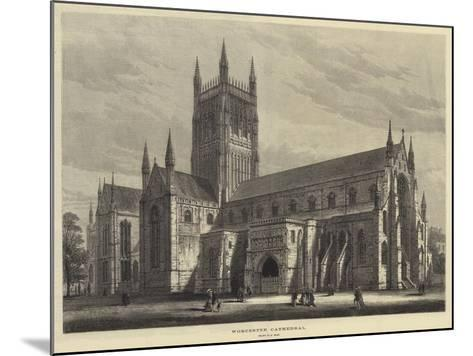 Worcester Cathedral-Samuel Read-Mounted Giclee Print