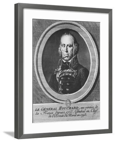 General Houchard-Simon Charles Miger-Framed Art Print