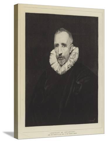 Portrait of Gevartius-Sir Anthony Van Dyck-Stretched Canvas Print