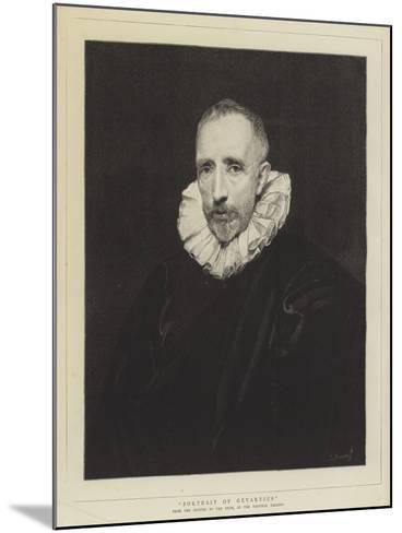 Portrait of Gevartius-Sir Anthony Van Dyck-Mounted Giclee Print