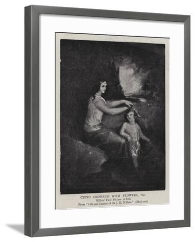 Cupid Crowned with Flowers, 1841-John Everett Millais-Framed Art Print