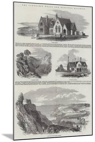 The Tunbridge Wells and Hastings Railway-Samuel Read-Mounted Giclee Print