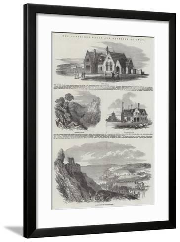 The Tunbridge Wells and Hastings Railway-Samuel Read-Framed Art Print