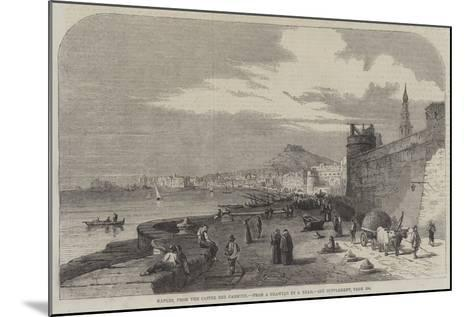 Naples, from the Castel Del Carmine-Samuel Read-Mounted Giclee Print