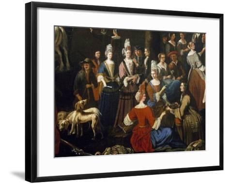 Saluzzo Fair-Sebastiano Taricco-Framed Art Print