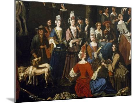 Saluzzo Fair-Sebastiano Taricco-Mounted Giclee Print