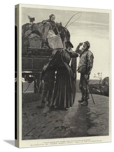 Tess of the D'Urbervilles-Hubert von Herkomer-Stretched Canvas Print