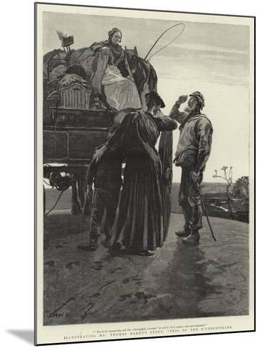 Tess of the D'Urbervilles-Hubert von Herkomer-Mounted Giclee Print