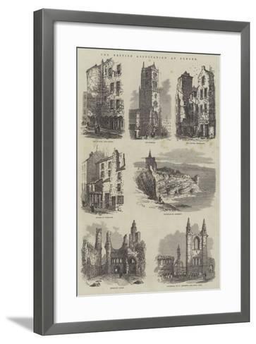 The British Association at Dundee-Samuel Read-Framed Art Print