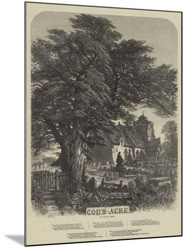 God's Acre-Samuel Read-Mounted Giclee Print