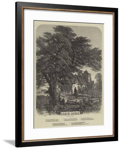 God's Acre-Samuel Read-Framed Art Print