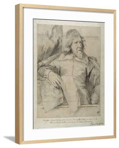 Inigo Jones-Sir Anthony Van Dyck-Framed Art Print